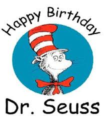 Image result for happy birthday dr seuss clipart