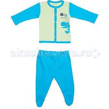 Комплект для мальчика (<b>распашонка</b>+<b>ползунки</b>) Super dino <b>Viva</b> ...