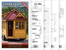 Tumbleweed Tiny House Building Plans   Tumbleweed HousesTumbleweed Cypress Building Plans