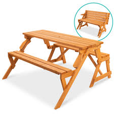 Best Choice Products <b>2-in-1 Outdoor</b> Interchangeable Wooden ...