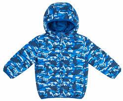 <b>Куртка</b> двухсторонняя для <b>мальчика Barkito</b>, синий/синий камуфляж
