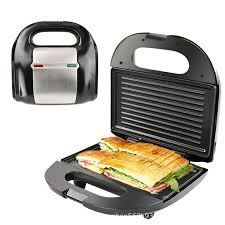 <b>Home Breakfast 2</b> Slice Electric Bread Grill <b>Toaster</b> Sandwich Maker ...