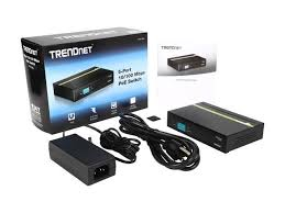 <b>TRENDnet TPE-S50</b> 5-port 10/100 Mbps PoE Switch. Limited Life ...