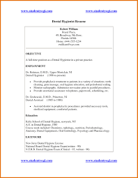 dental resume objective template dental resume objective