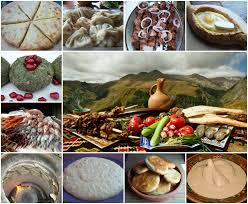 Gastronomía de Georgia