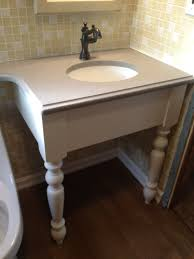 making bathroom cabinets: diy bathroom vanity with white wooden free standing sink and glass