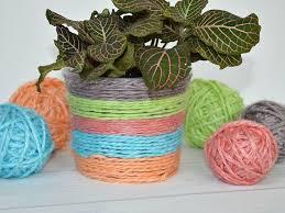 Risultati immagini per upcycling plant cover crochet