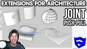 SketchUp Extensions FOR ARCHITECTURE - Push Pull <b>Curved</b> ...