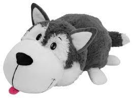 Мягкая <b>игрушка 1 TOY Вывернушка</b> Хаски-Полярный медведь 20 см