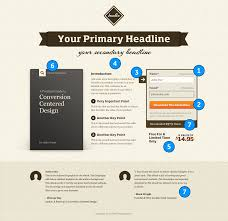 creative landing page design examples a showcase and critique landing page template conversion centered design