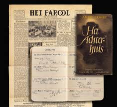 The story of Anne Frank  Anne Frank     s diary is published Anne Frank House Anne Frank     s diary is published