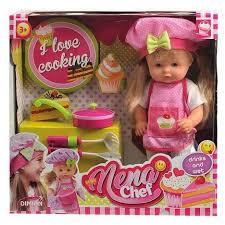 <b>Кукла Dimian</b> Baby <b>Nena Шеф</b>-<b>повар</b>, 36 см, BD387 - купить ...