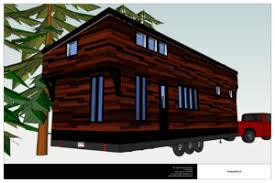 Free House Plans   THE small HOUSE CATALOG   The Tamarack Tiny House Plan