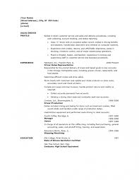 delivery driver resume sample training experience sample good driver resume samples