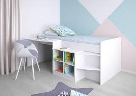 <b>Кровать</b>-<b>чердак Polini kids</b> Simple со столом и полками 4000 ...