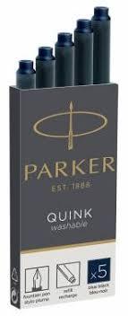 <b>Картридж Parker Quink Ink</b> Z11 чернила для ручек перьевых, сине ...