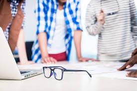office glasses advertising agency office advertising agency