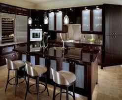 kitchen designs glass cabinets