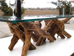 tree trunk table with glass top awesome tree trunk table 1