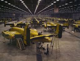halsey doolittle raid of 18 1942 archives this day in aviation north american aviation b 25 mitchell medium bombers being assembled at the kansas city bomber plant 1942 alfred t palmer office of war