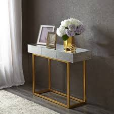 marble dining table adecc: madison park glam willa mirror gold console table