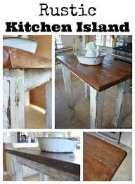 rustic kitchen island: rustic kitchen island rustic kitchen island collage rustic kitchen island