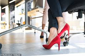 <b>Women</b> are more likely to wear <b>high heels</b> if they are going on a ...