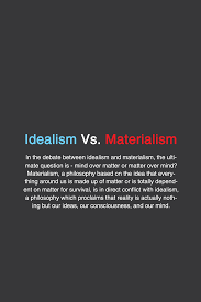 idealism vs materialism philosophy typography materialism 1 3 philosophy typography typographyposter