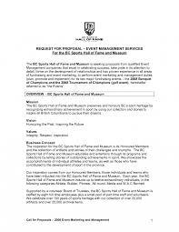 event management proposal pdf template pdf xianning it