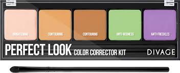 Divage <b>Палетка корректоров для лица</b> Perfect Look — купить в ...