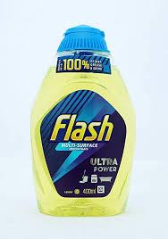 Flash Liquid Gel Crisp <b>Lemons Concentrated All Purpose Cleaner</b> ...