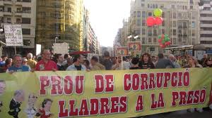 Resultat d'imatges de corrupcion valencia