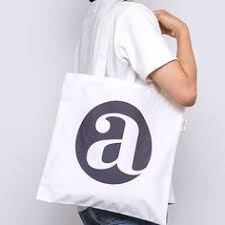 Letter <b>Contrast Color</b> Belt Canvas <b>Tote Bag</b> in 2019 | Accessory ...