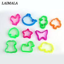 <b>10pcs</b>/<b>set Random Color</b> Play Dough Plasticine Mold Tools Set <b>Kids</b> ...