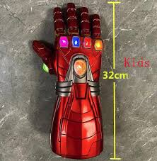 Marvel Avengers End <b>Game</b> Iron Man Infinity Gauntlet <b>Gloves</b> with ...