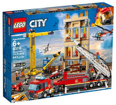 <b>Конструктор LEGO City</b> 60216 Центральная пожарная станция ...