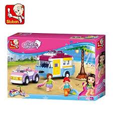 Buy <b>Sluban</b> Beach Holiday Building Block Crontsruction Toys For ...