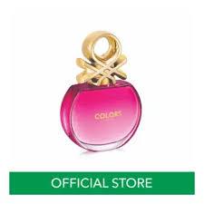 United <b>Colors</b> of <b>Benetton Colors Pink</b> Eau <b>De</b> Toilette 80ml ...