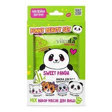 Подарочный набор <b>VILENTA</b> Funny <b>Beauty</b> Set Sweet Panda ...