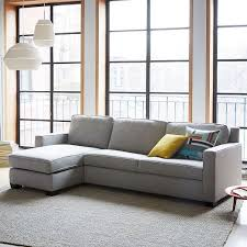 henry 2 piece pull down sleeper sectional w storage west elm astonishing home stores west elm