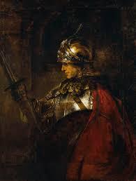 rembrandt to reynolds collecting rembrandt in eighteenth century rembrandt a man in armour achilles or alexander 1655 oil on canvas 137 5 104 5 cm city art gallery and museum glasgow