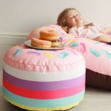 Indoor Outdoor <b>Donut</b> Hole <b>Kids</b> Stool | rucomfy Beanbags
