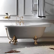 Ванна Kerasan Retro 170x77 ножки золото - Дом Сантехники