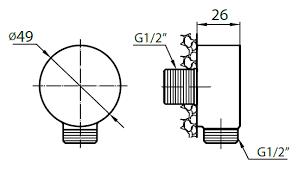 <b>Шланговое</b> подключение <b>Cezares Articoli</b> Vari CZR-AI1-02 купить в ...
