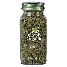 Simply Organic Cilantro Leaf, <b>Cut &</b> Sifted, <b>Certified Organic</b> | 0.78 ...