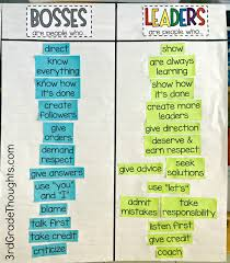 bosses vs leaders lesson bies rd grade thoughts leaders lesson bies 3rd grade thoughts