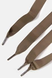 <b>Шнурки TUBE LACES Grosgrain</b> Ribbon Lace Pack (2шт) (Olive-90 ...