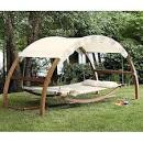 Patio swing canopy