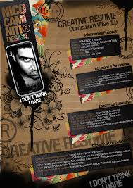 Examples of Creative Graphic Design Resumes   Inspirationfeed  Examples of Creative Graphic Design Resumes Infographics      Photo