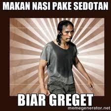 makan nasi pake sedotan biar greget - MadDog (The Raid) | Meme ... via Relatably.com